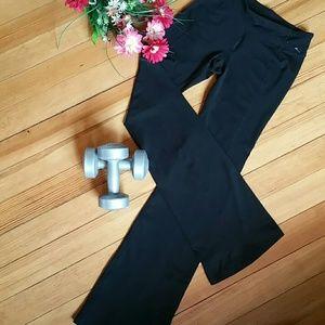 NWOT- Gap Body Black Yoga Pants Flared Performance